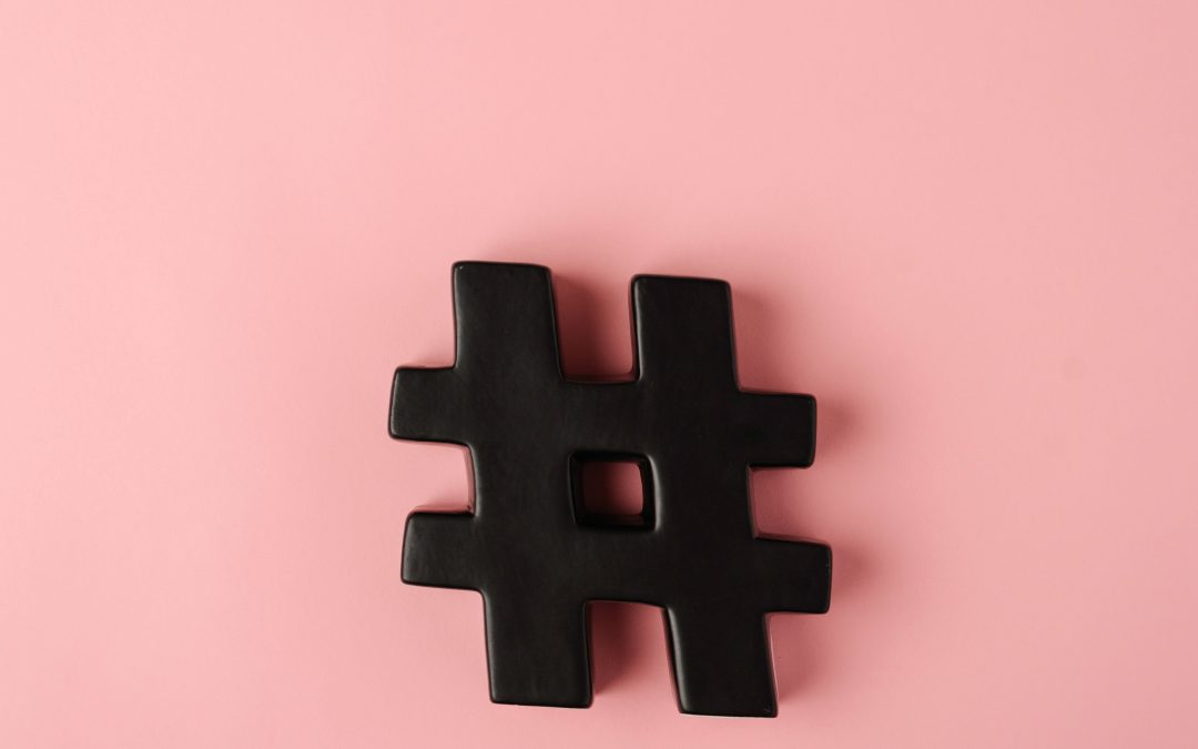 Hashtag symbol for using Instagram for your online business