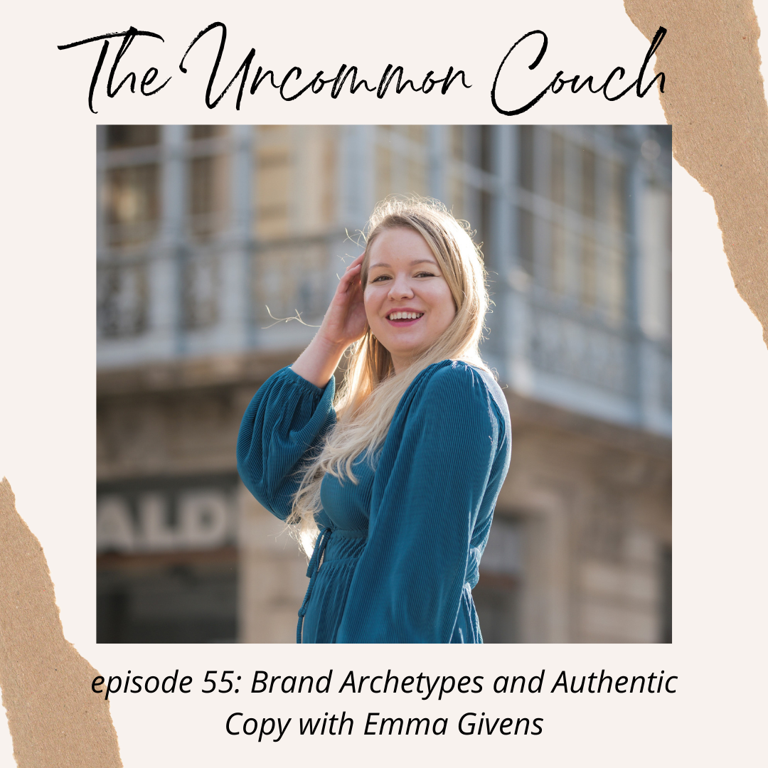 Brand Archetypes media appearance on the Uncommon Couch podcast